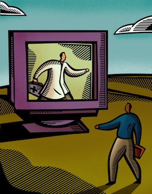 Online doctor visits offer convenience