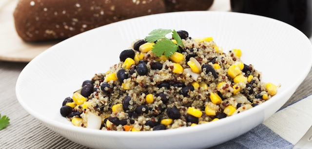 Healthy Eats: Quinoa with black beans and corn