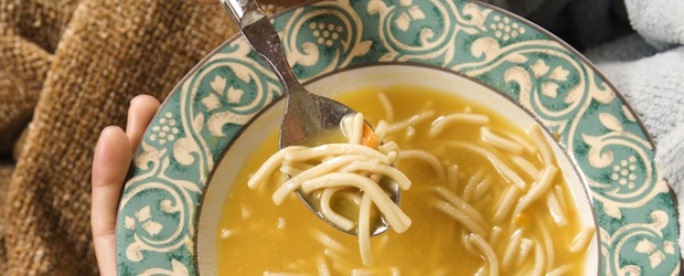 True or False? Homemade chicken soup cures colds.