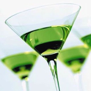 Shamrock Martini (148 Calories)