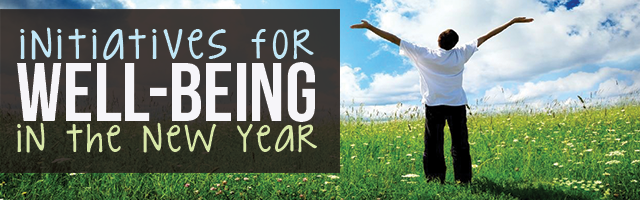 4 Initiatives for Well-Being In The New Year