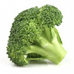 Fresh broccoli in closeup
