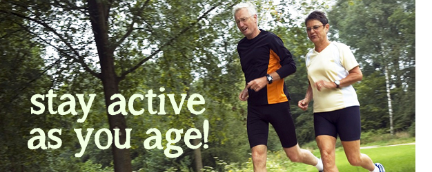 Stay active as you age