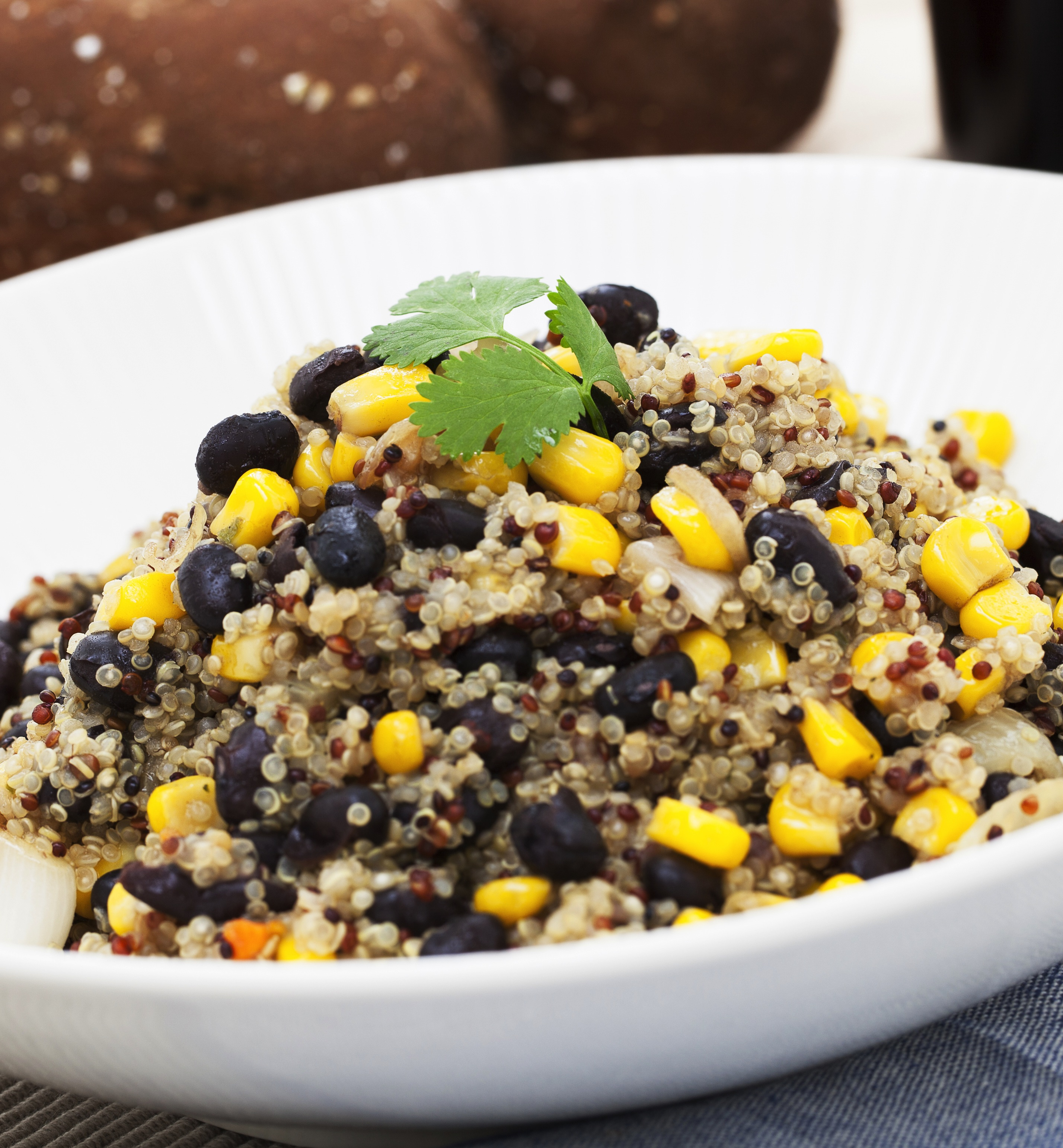 Black Bean and Corn Quinoa