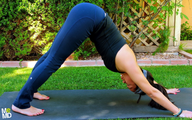 Yoga RX: Downward Dog (Adho Mukha Svanasana)